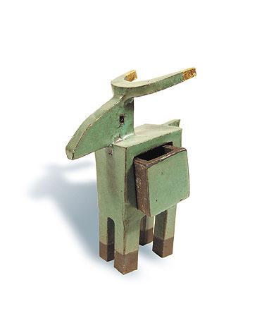 Fred Lange: Hirsch, Keramik