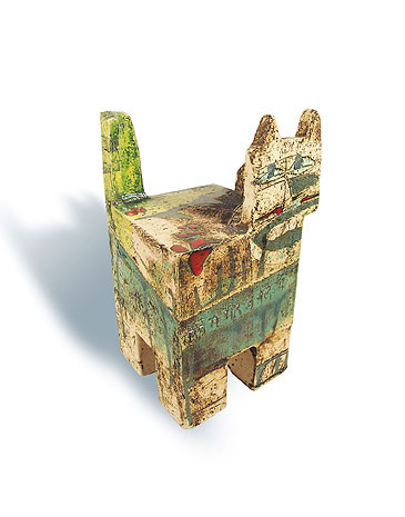 Fred Lange: Innenrotkatze, Keramik