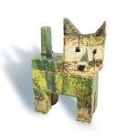Fred Lange: kleine liebe Katze, Keramik