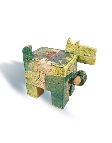Fred Lange: Korkenhund, Keramik