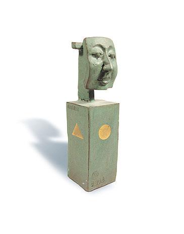 Fred Lange: Mephisto, Keramik
