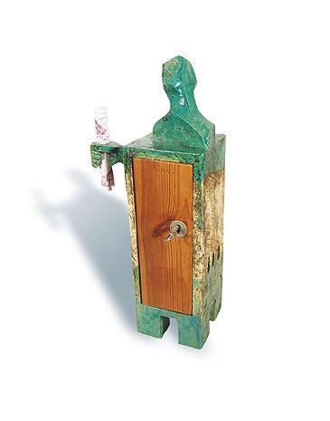 Fred Lange: Mister Postmann, Keramik