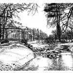 Wolf-Erik Widdel: Schloss in Oranienbaum, Feder